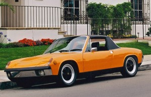 Porsche 914/6 Competition Car