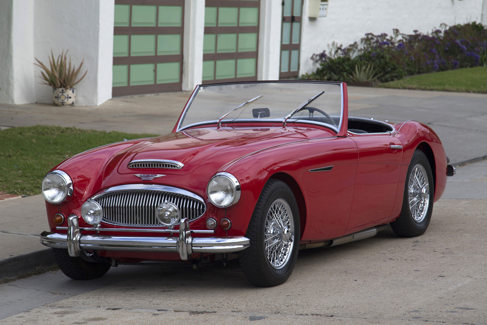 1961 austin healey 3000 mkii bn7 grand prix classics la jolla calif. Black Bedroom Furniture Sets. Home Design Ideas