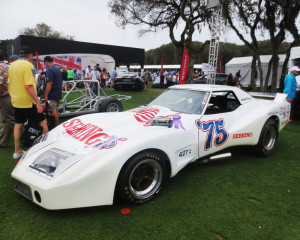 "March 2016 - Amelia Island Concours - 1974 Greewood Corvette ""Spirit of Sebring '75"" - Winner of the Most Historically Significant Corvette award"