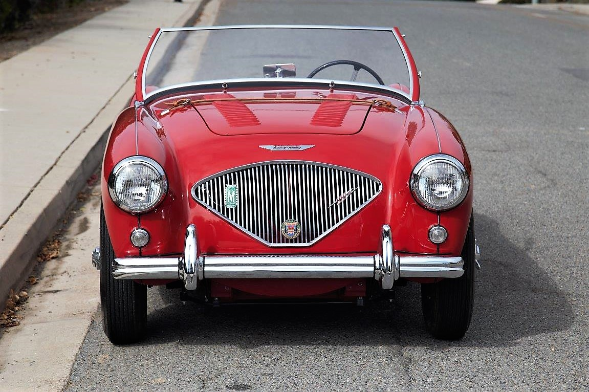 1956 austin healey 100m le mans grand prix classics la. Black Bedroom Furniture Sets. Home Design Ideas